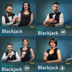 Verschillende blackjack versies